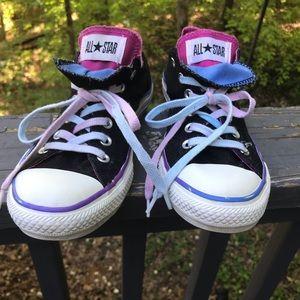 Converse Shoes - BLUE PINK BLACK CONVERSE